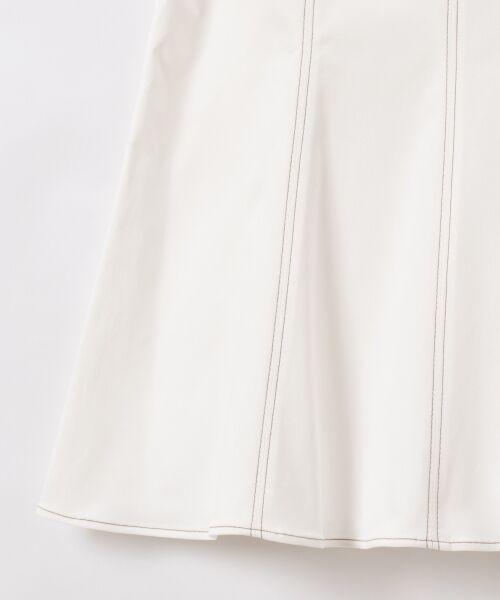 GRACE CONTINENTAL / グレースコンチネンタル ミニ・ひざ丈スカート   切替マーメイドスカート   詳細6