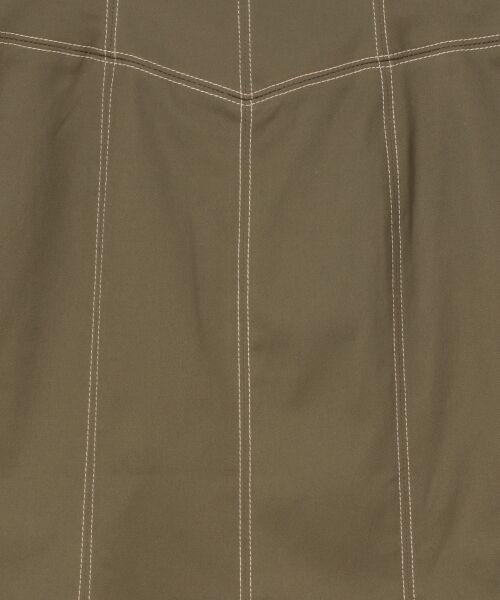 GRACE CONTINENTAL / グレースコンチネンタル ミニ・ひざ丈スカート   切替マーメイドスカート   詳細20
