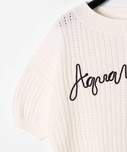 GRACE CONTINENTAL / グレースコンチネンタル ニット・セーター | コード刺繍ニットトップ | 詳細5