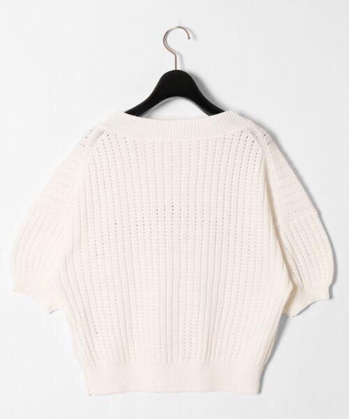GRACE CONTINENTAL / グレースコンチネンタル ニット・セーター | コード刺繍ニットトップ | 詳細7