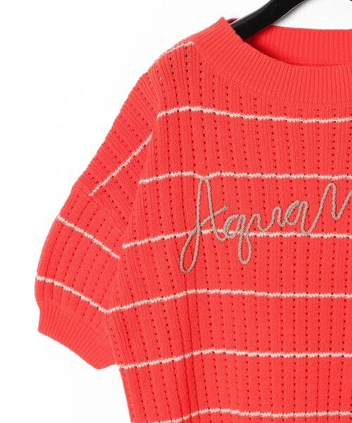GRACE CONTINENTAL / グレースコンチネンタル ニット・セーター | コード刺繍ニットトップ | 詳細10