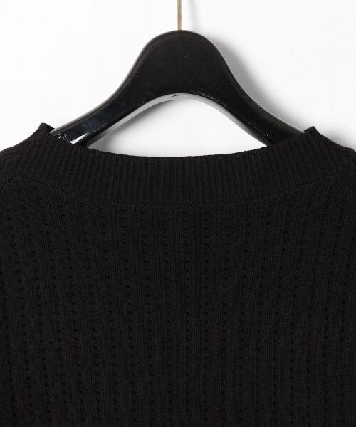 GRACE CONTINENTAL / グレースコンチネンタル ニット・セーター | コード刺繍ニットトップ | 詳細23