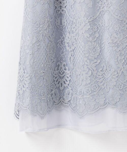 GRACE CONTINENTAL / グレースコンチネンタル ドレス | コードレースドレス | 詳細17