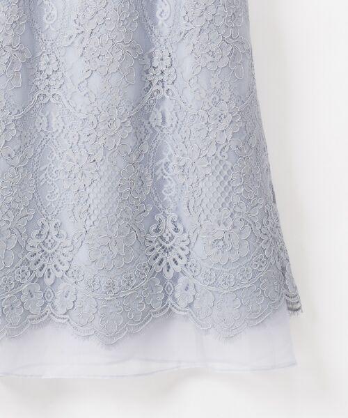GRACE CONTINENTAL / グレースコンチネンタル ドレス | コードレースドレス | 詳細23