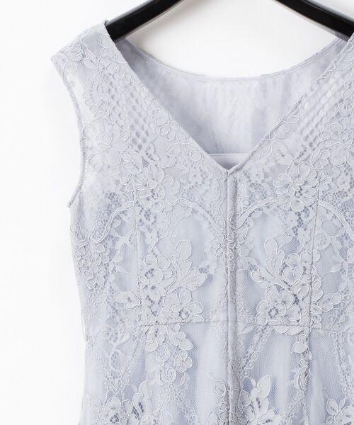 GRACE CONTINENTAL / グレースコンチネンタル ドレス | コードレースドレス | 詳細25