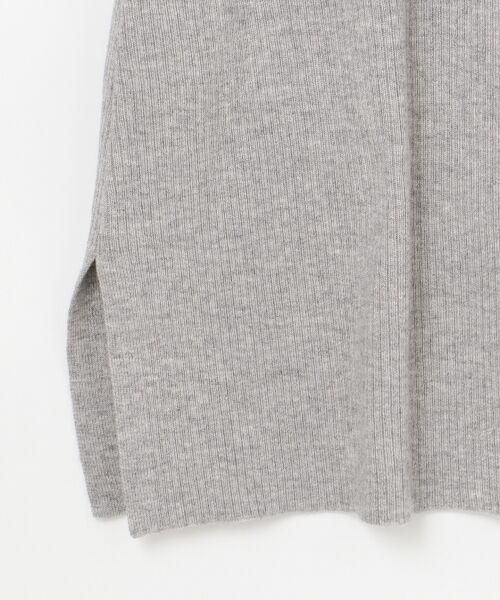GRACE CONTINENTAL / グレースコンチネンタル ミニ丈・ひざ丈ワンピース | モヘヤ2WAYニットワンピース | 詳細17
