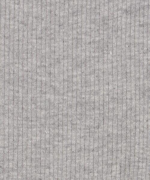 GRACE CONTINENTAL / グレースコンチネンタル ミニ丈・ひざ丈ワンピース | モヘヤ2WAYニットワンピース | 詳細18