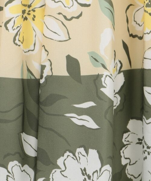 GRACE CONTINENTAL / グレースコンチネンタル ミニ・ひざ丈スカート | フラワープリントプリーツスカート | 詳細11