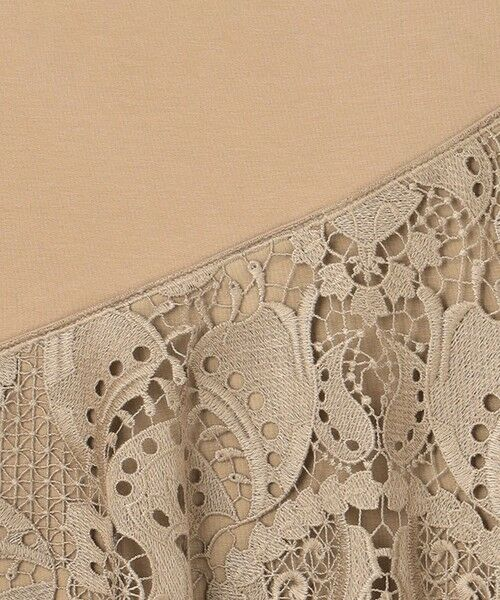 GRACE CONTINENTAL / グレースコンチネンタル カットソー   刺繍レーストップ   詳細21