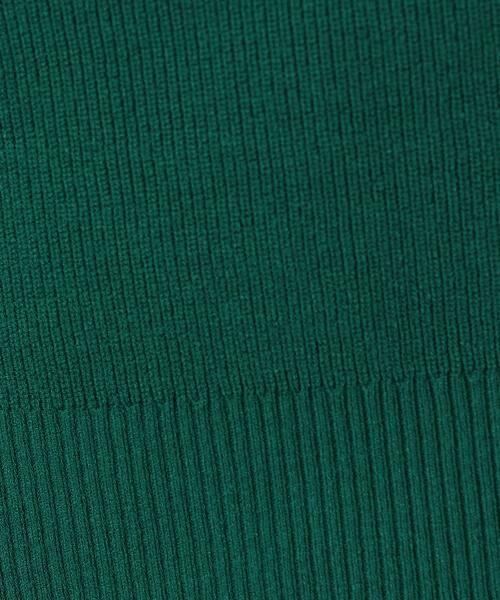green label relaxing / グリーンレーベル リラクシング ニット・セーター | [手洗い可能] KC カタアゼx天竺 Vネック ニット | 詳細11