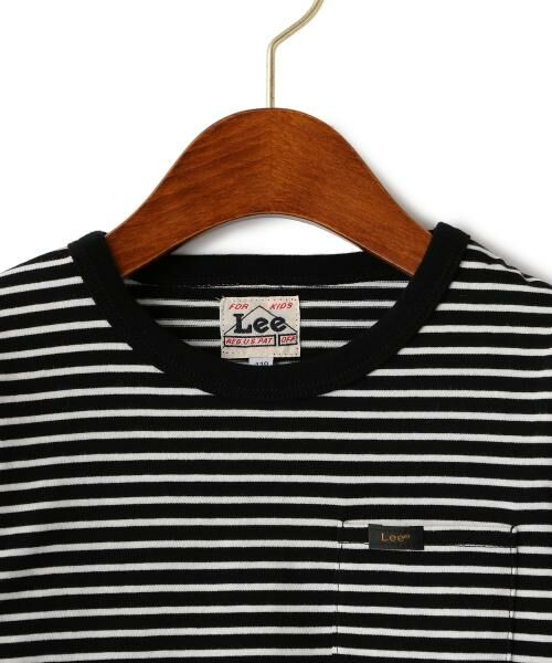 green label relaxing / グリーンレーベル リラクシング ベビー・キッズウエア | WEB限定【キッズ】LEE(リー) クルーネック ポケット Tシャツ | 詳細14