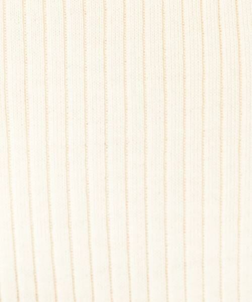 green label relaxing / グリーンレーベル リラクシング ニット・セーター | [手洗い可能] CR W リブ クルーネック 12G ニット | 詳細2