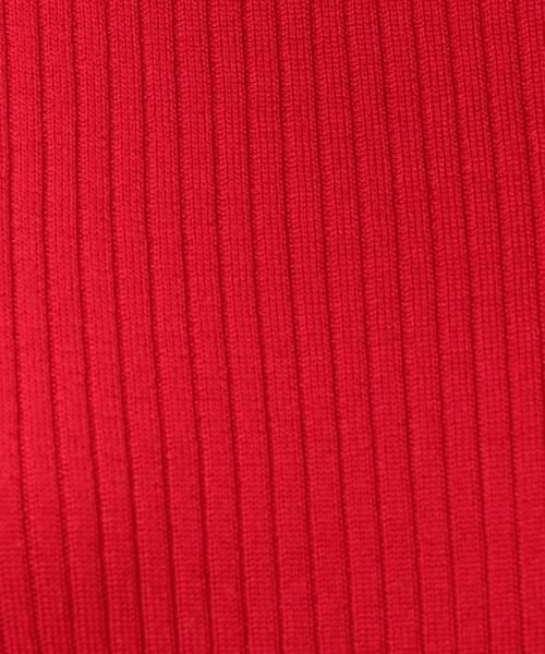 green label relaxing / グリーンレーベル リラクシング ニット・セーター | [手洗い可能] CR W リブ クルーネック 12G ニット | 詳細14