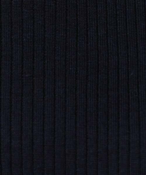 green label relaxing / グリーンレーベル リラクシング ニット・セーター | [手洗い可能] CR W リブ クルーネック 12G ニット | 詳細20