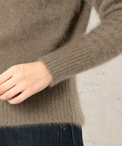 green label relaxing / グリーンレーベル リラクシング ニット・セーター | KF ヘアリー ボートネック ニット | 詳細6