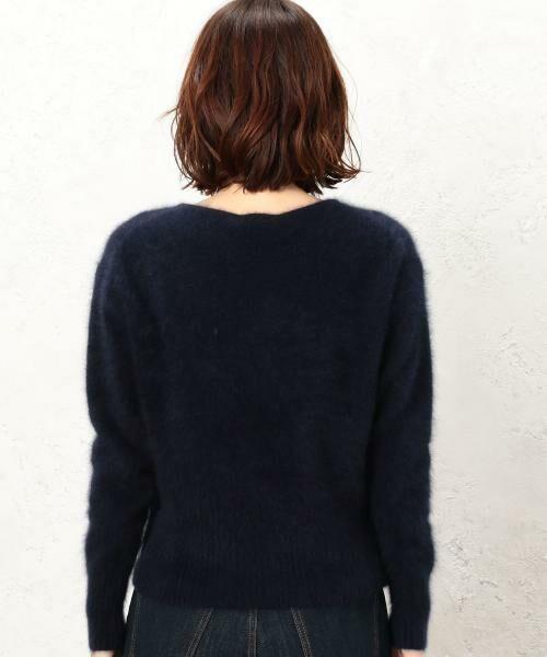 green label relaxing / グリーンレーベル リラクシング ニット・セーター | KF ヘアリー ボートネック ニット | 詳細10