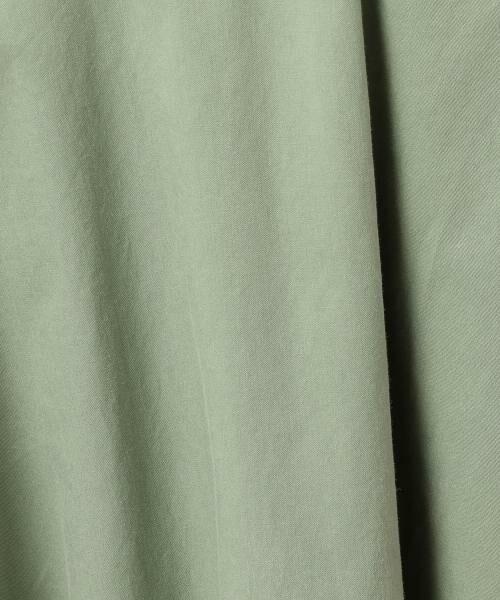 green label relaxing / グリーンレーベル リラクシング ミニ・ひざ丈スカート | NFC Cリヨセル サーキュラースカート | 詳細6