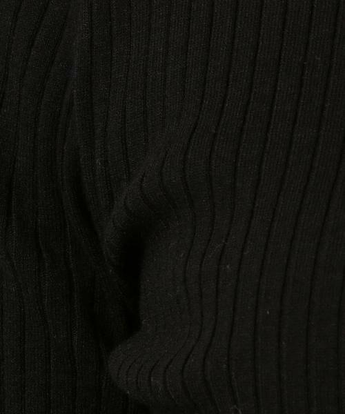 green label relaxing / グリーンレーベル リラクシング ニット・セーター | [手洗い可能] D リブ ハイネック ニット | 詳細13