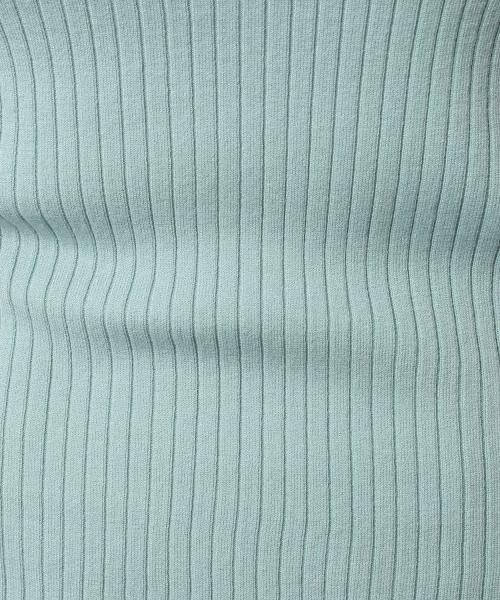 green label relaxing / グリーンレーベル リラクシング ニット・セーター | [手洗い可能] D リブ ハイネック ニット | 詳細19