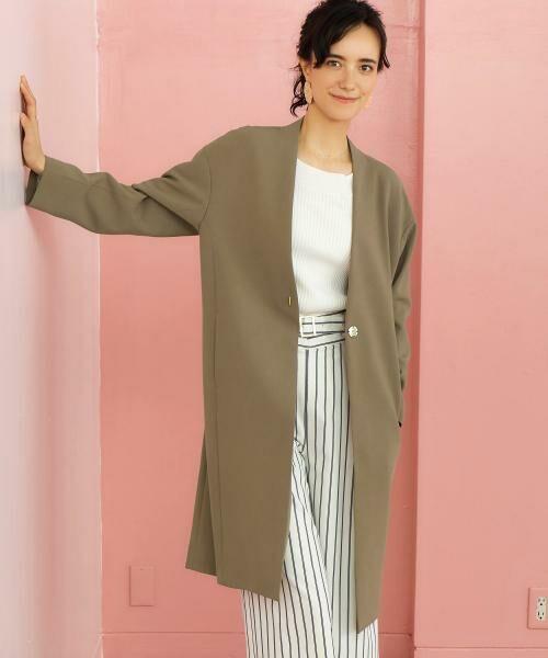 先まで着られる軽やか素材の春コートをご紹介!