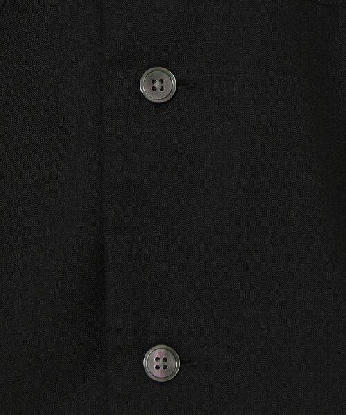 green label relaxing / グリーンレーベル リラクシング シャツ・ブラウス | CM ウォッシャブルトロ Wパッチ オープンカラー 半袖 シャツ | 詳細1