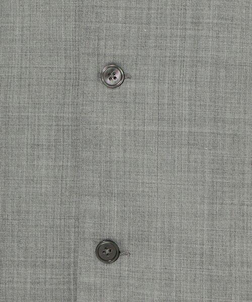 green label relaxing / グリーンレーベル リラクシング シャツ・ブラウス | CM ウォッシャブルトロ Wパッチ オープンカラー 半袖 シャツ | 詳細10