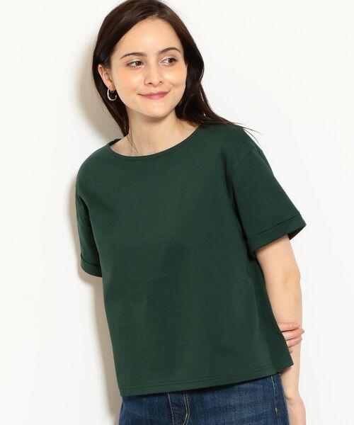 green label relaxing / グリーンレーベル リラクシング カットソー   SC バスクテンジク Tシャツ(KELLY)