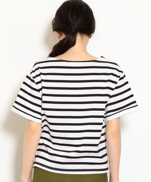 green label relaxing / グリーンレーベル リラクシング カットソー   SC バスクテンジク Tシャツ   詳細1