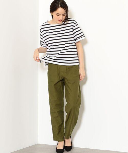 green label relaxing / グリーンレーベル リラクシング カットソー   SC バスクテンジク Tシャツ   詳細4