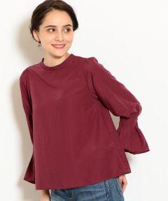 スタイリングの主役になるデザイン性の高いブラウス。<br>袖口をギュッと絞り、袖にはタックを入れフレアスリーブに仕上げました。<br>女性らしいふんわりとした動きがでるのがポイント。<br>サラッと一枚での着用も、インスタイルも幅広くお楽しみいただける一枚です。<br><br><font color=purple>店舗へお問い合わせの際は、全国のgreen label relaxing各店舗まで下記の品名/品番をお申し付け下さい。<br>品名:KFC ソデグチタック PO  品番:3611-699-1370</font>