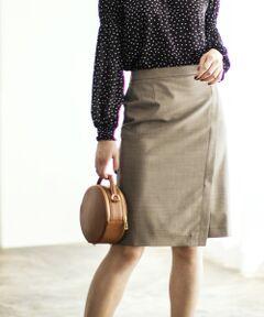 [カチリラ] ◆D ラップ風 スカート