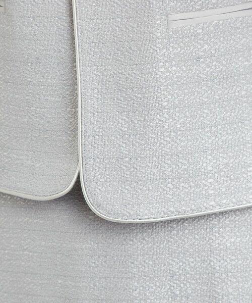 green label relaxing / グリーンレーベル リラクシング ノーカラージャケット | [WEB限定] D ツイード ジャケット/スカート セット | 詳細2