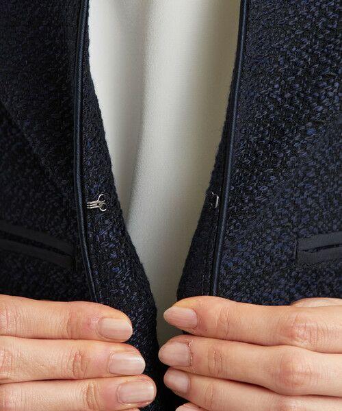 green label relaxing / グリーンレーベル リラクシング ノーカラージャケット | [WEB限定] D ツイード ジャケット/スカート セット | 詳細15