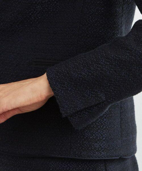 green label relaxing / グリーンレーベル リラクシング ノーカラージャケット | [WEB限定] D ツイード ジャケット/スカート セット | 詳細11