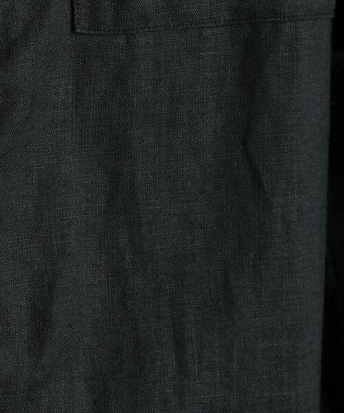green label relaxing / グリーンレーベル リラクシング シャツ・ブラウス   SC フレンチリネン ミリタリーバンドシャツ   詳細11