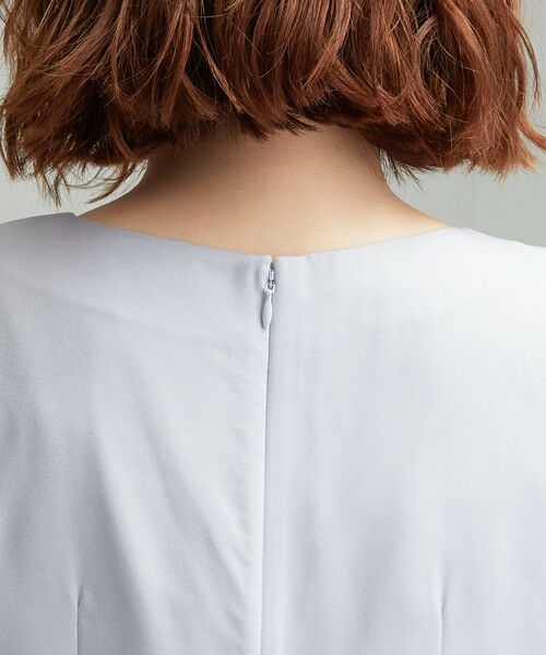 green label relaxing / グリーンレーベル リラクシング ドレス | D GB リボン ギャザー ワンピース | 詳細7