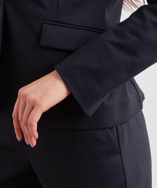 green label relaxing / グリーンレーベル リラクシング ノーカラージャケット   [洗濯可能] ◆D モクロディ ノーラペル ジャケット   詳細13