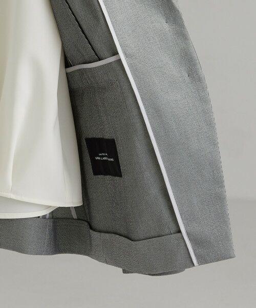 green label relaxing / グリーンレーベル リラクシング テーラードジャケット | [手洗い可能/サッカー] ◆D テーラード ジャケット | 詳細8