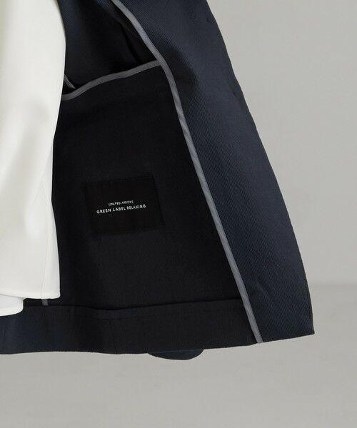 green label relaxing / グリーンレーベル リラクシング テーラードジャケット | [手洗い可能/サッカー] ◆D テーラード ジャケット | 詳細16