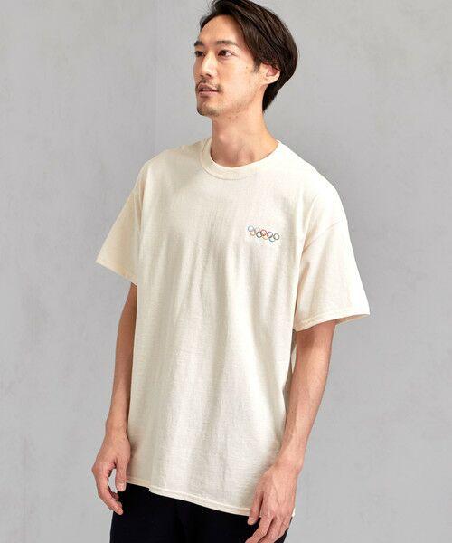 green label relaxing / グリーンレーベル リラクシング Tシャツ | [ナナナナイチエム] SC★771m 刺繍 ish-Tee / Tシャツ(GOLD)