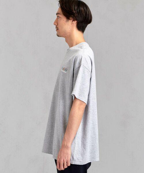 green label relaxing / グリーンレーベル リラクシング Tシャツ | [ナナナナイチエム] SC★771m 刺繍 ish-Tee / Tシャツ | 詳細3