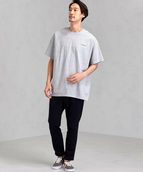 green label relaxing / グリーンレーベル リラクシング Tシャツ | [ナナナナイチエム] SC★771m 刺繍 ish-Tee / Tシャツ | 詳細4