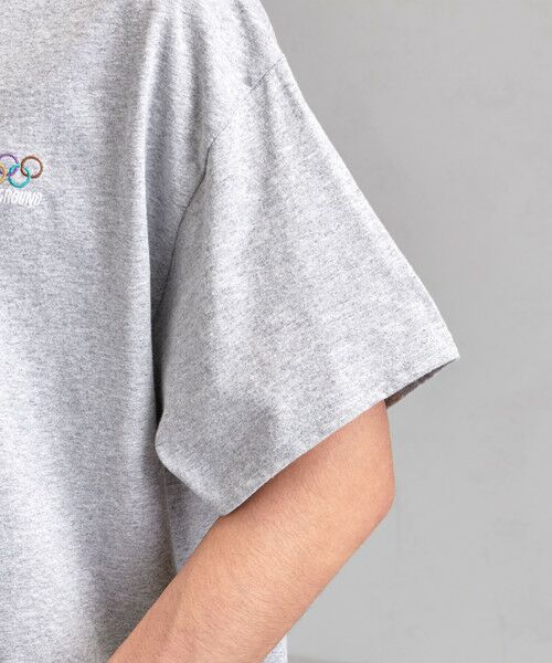 green label relaxing / グリーンレーベル リラクシング Tシャツ | [ナナナナイチエム] SC★771m 刺繍 ish-Tee / Tシャツ | 詳細6