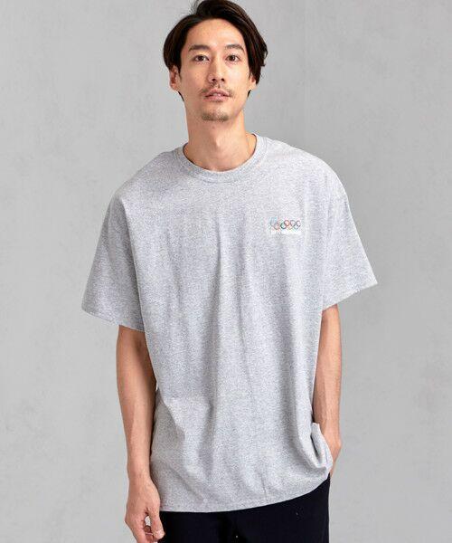 green label relaxing / グリーンレーベル リラクシング Tシャツ | [ナナナナイチエム] SC★771m 刺繍 ish-Tee / Tシャツ(SILVER)