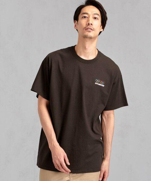 green label relaxing / グリーンレーベル リラクシング Tシャツ | [ナナナナイチエム] SC★771m 刺繍 ish-Tee / Tシャツ(MD.BROWN)