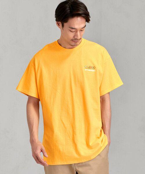 green label relaxing / グリーンレーベル リラクシング Tシャツ | [ナナナナイチエム] SC★771m 刺繍 ish-Tee / Tシャツ(ORANGE)