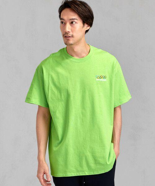 green label relaxing / グリーンレーベル リラクシング Tシャツ | [ナナナナイチエム] SC★771m 刺繍 ish-Tee / Tシャツ(KELLY)