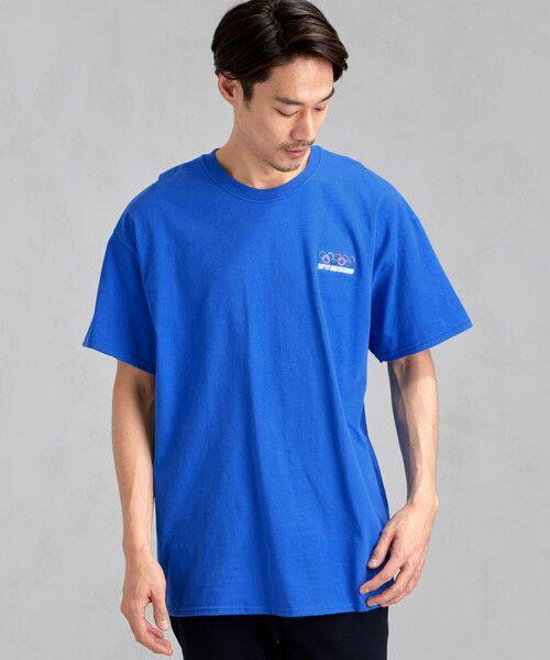 green label relaxing / グリーンレーベル リラクシング Tシャツ | [ナナナナイチエム] SC★771m 刺繍 ish-Tee / Tシャツ(LT.BLUE)