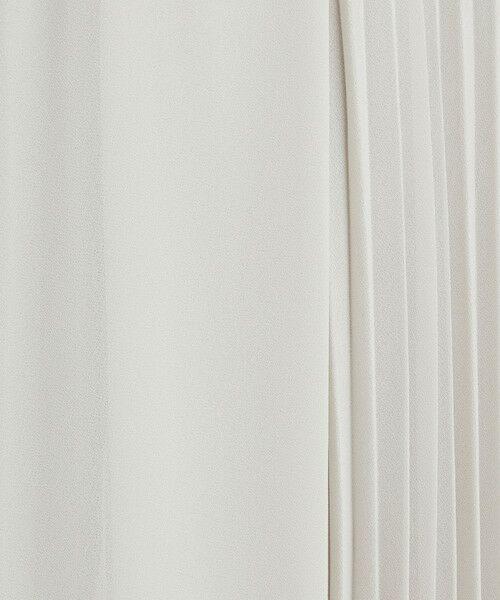green label relaxing / グリーンレーベル リラクシング ミニ・ひざ丈スカート | FM シフォン 2WAY プリーツ スカート | 詳細14