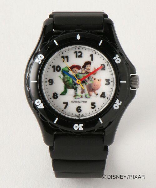 green label relaxing / グリーンレーベル リラクシング 腕時計 | 〔別注〕Q&Q キッズウォッチ/トイストーリー4(BLACK)